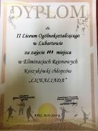 III Miejsce dla II LO w Mistrzostwach Rejonu w koszykówce chłopców_11