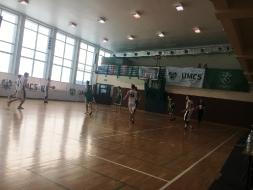 Koszykarze z II LO kolejny raz na parkietach UMCS