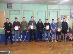 Mistrzostwa Powiatu w Drużynowym Tenisie Stołowym Dziewcząt i Chłopców_12