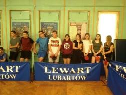 Mistrzostwa Powiatu w Drużynowym Tenisie Stołowym Dziewcząt i Chłopców_1