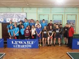 Mistrzostwa Powiatu w Drużynowym Tenisie Stołowym Dziewcząt i Chłopców_2