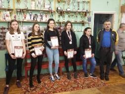 Mistrzostwa Powiatu w Indywidualnym Tenisie Stołowym Dziewcząt i Chłopców