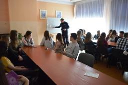 Spotkanie z przedstawicielem KPP w II LO