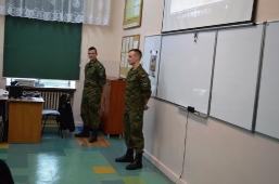 Wizyta podchorążych WAT w II Liceum Ogólnokształcącym w Lubartowie_2