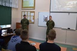 Wizyta podchorążych WAT w II Liceum Ogólnokształcącym w Lubartowie_4