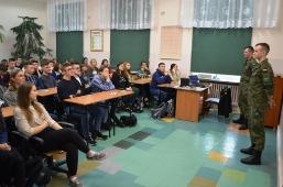 Wizyta podchorążych WAT w II Liceum Ogólnokształcącym w Lubartowie_6