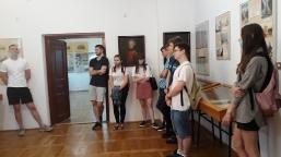 Śladami lubartowskich Sanguszków, czyli wizyta uczniów II LO w Muzeum Ziemi Lubartowskiej