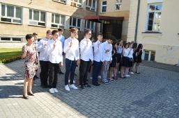 Ślubowanie uczniów klas I