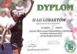Sukcesy tenisistów z II LO_2