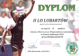 Sukcesy tenisistów z II LO_3