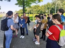 Uczniowie II LO z wizytą w Państwowym Muzeum na Majdanku_1